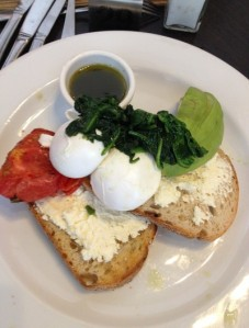 Case in point - Ricotta breakfast